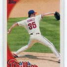 COLE HAMELS 2010 Topps #70 Philadelphia Phillies