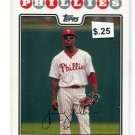 JIMMY ROLLINS 2008 Topps #30 Phillies