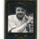BABE RUTH 2001 SP Legendary Cuts #78 New York NY Yankees