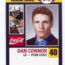 DAN CONNOR 2008 Senior Bowl card PENN STATE Panthers PRE-ROOKIE
