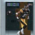 DALLAS BAKER 2007 Playoff NFL Playoffs SILVER ROOKIE #151 Steelers Gators #d/249 Graded GEM 10