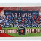 Rookie Premiere Photo Shoot 2010 Topps #412