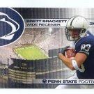BRETT BRACKETT 2010 Penn State Football Schedule MINI