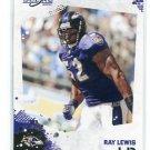 RAY LEWIS 2010 Score #24  Baltimore Ravens MIAMI CANES Hurricanes