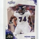 MICHAEL OHER 2010 Score #23 Baltimore Ravens OLE MISS REBELS The Blindside