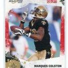 MARQUES COLSTON 2010 Score RED ZONE #183 Saints #d 100/100 - LAST ONE