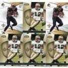 $.05 SALE:   (6) MARQUES COLSTON lot New Orleans Saints