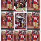 $.05 SALE:   (9) VERNON DAVIS lot 49ers MARYLAND Terps