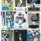 $.05 SALE:   (9) STEVE SMITH lot Carolina Panthers UTAH UTES
