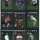 (9) 2008 Topps Chrome Football ROOKIE SALE lot #1