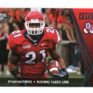 RYAN MATHEWS 2010 Press Pass #69 Chargers FRESNO STATE