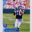 ARMANTI EDWARDS 2010 Topps #315 ROOKIE Carolina Panthers QB / WR