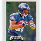 CHARLES SCOTT 2010 Topps #424 ROOKIE Eagles LSU Tigers RB