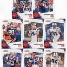 (8) Buffalo BILLS 2010 Score TEAM LOT Stars