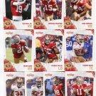 (10) San Francisco 49ers 2010 Score TEAM LOT Stars