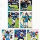(7) Jacksonville JAGUARS New 2010 Topps TEAM LOT Stars