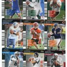 QUARTERBACK SALE:  (9) 2001 NFL Showdown First 1st and & Goal QB lot