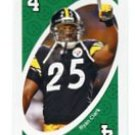 RYAN CLARK 2009 Uno Card Game GREEN-4 Steelers LSU Tigers