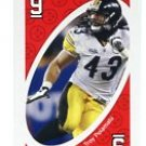 TROY POLAMALU 2009 Uno Card Game RED-9 Steelers SOUTHERN CAL USC Trojans