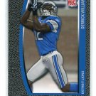 DERRICK WILLIAMS 2009 Topps Unique #158 ROOKIE Penn State DETROIT LIONS
