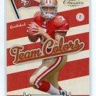 NATE DAVIS 2009 Donruss Classics School Colors INSERT ROOKIE 49ers BALL STATE QB BV $5