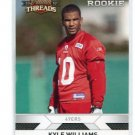 KYLE WILLIAMS 2010 Panini Threads #253 ROOKIE 49ers ARIZONA STATE Sundevils