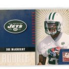 JOE McKNIGHT 2010 Donruss Elite #20 ROOKIE New York NY Jets USC Trojans #d/999
