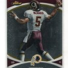 DONOVAN McNABB 2010 Topps Finest #36 Syracuse REDSKINS uniform QB