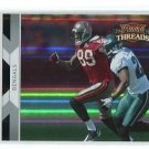 ANTONIO BRYANT 2010 Panini Donruss Threads SILVER HOLOFOIL SP Buccaneers PITT PANTHERS #d/250