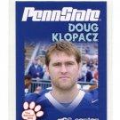 DOUG KLOPACZ 2010 Penn State Second Mile CENTER