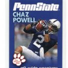 CHAZ POWELL 2010 Penn State Second Mile WR / KICK RETURNER