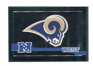 ST. LOUIS RAMS Football Helmet 2010 Panini Sticker #520