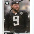 SHANE LECHLER 2010 Panini Sticker #257 Raiders PUNTER