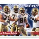 NEW ORLEANS NO SAINTS 2009 Leaders 2010 Panini Sticker #550