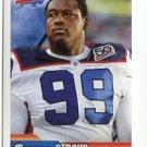 MARCUS STROUD 2010 Panini Sticker #34 Buffalo Bills GEORGIA Bulldogs DAWGS