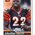 JOHNATHAN JOSEPH 2010 Panini Sticker #113 Bengals SOUTH CAROLINA Gamecocks
