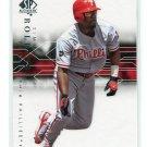 JIMMY ROLLINS 2008 SP Authentic  #28 Phillies