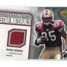 MICHAEL ROBINSON 2006 UD Rookie Debut Future Star JERSEY ROOKIE Penn State 49ers QB