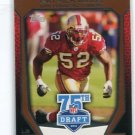 PATRICK WILLIS 2010 Topps 75th Draft INSERT #75DA-13 49ers OLE MISS