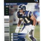 JEFF GRAHAM 2001 NFL Showdown First Edition #362 Chargers OHIO STATE Buckeyes