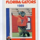 ALBERT the MASCOT 1989 Florida Gators Police Set card