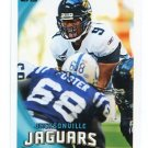 DAVID GARRARD 2010 Topps #249 Jaguars QB