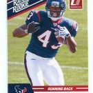 BEN TATE 2010 Panini Donruss Rated Rookie AUBURN TIGERS Texans