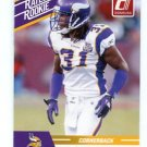 CHRIS COOK 2010 Panini Donruss Rated Rookie VIKINGS Virginia Cavaliers
