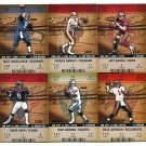 QUARTERBACK SALE:  (6) 2003 Fleer Authentix QB lot