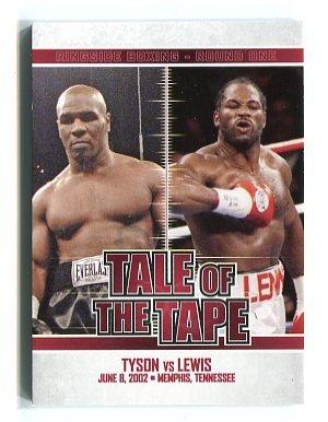 Mike Tyson Vs Lennox Lewis 2010 Ringside Tale Of The Tape
