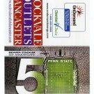 BEAVER STADIUM 50th Anniversary 2010 Penn State Football Schedule FULL SIZED