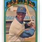 DAVE MAY 1972 Topps #549 Brewers BV $4