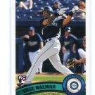 GREG HALMAN 2011 Topps ROOKIE #83 Mariners
