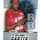 DELONE CARTER 2011 Sage Hit SILVER SP ROOKIE Syracuse Orange COLTS